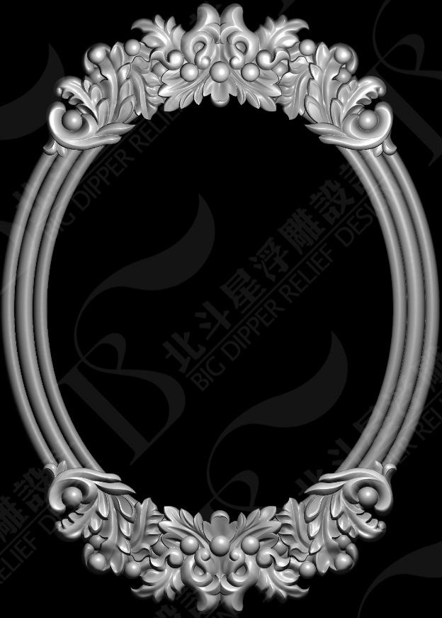 浮雕图片-欧式花边框